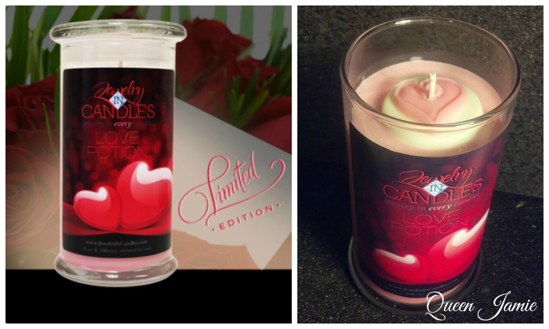 JIC Valentine's Day Candle