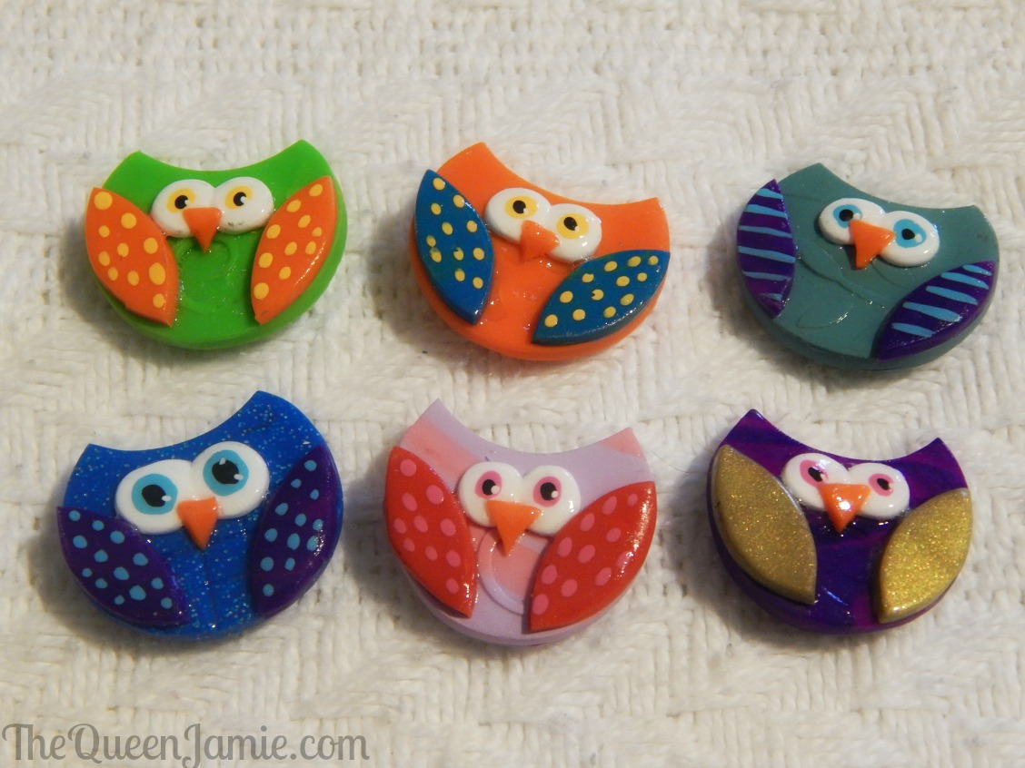 Owl Magnets from 'The Painted Tree Shoppe!'